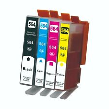 4 Ink Cartridge 564 XL For HP 564XL Photosmart 5510 5511 5512 5514 5515 5520
