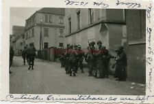 *WWII photo- 80th ID- US GIs ready to ATTACK on CRIMMITSCHAU Germany WAR STORY*