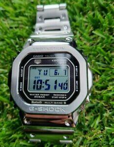 G-Shock GMW-B5000D-1ER  , Solar Bluetooth Atomic Steel Metal Casio