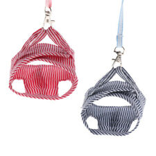 2pc Pet Squirrel Vest Harnesses Traction Rope Collars for Pet Rat Hamster