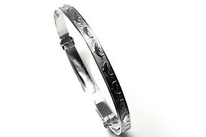 Sterling Silver Baby Christening Bangle Dolphin Gift boxed Made in UK
