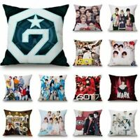 Home Pillow Case K-Pop GOT7 Pillowcase Bedroom Cushion Cover Sofa Cushion Cover