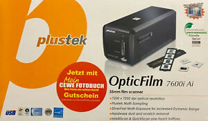 PLUSTEK OPTICFILM 7600i  Ai  SCANNER DIA 35mm