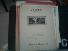 Cyril Scott: Lento from 2 Pierrot Pieces, for piano (Boosey and Hawkes)