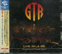 GTR-LIVE IN LA '86-IMPORT CD WITH JAPAN OBI F08