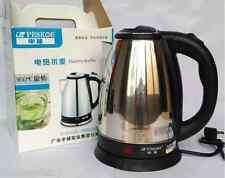 Stainless Steel Electric Tea Kettle 1.5 Liter Hot Water Boiler Heater Pot 2017