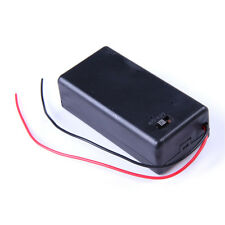 9V Dc Cell Battery Holder Box with on / off switch w/ 6 inch Leads for Lgb