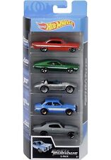 Hot Wheels Fast & Furious 5 Pack Set Movie Impala,Corvette,Escort,Chevelle  2019