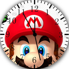 Super Mario Wall Clock Nice For Gift or Home Office Wall Decor F63