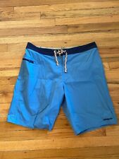 Patagonia Board Shorts - Men's - 36 - Blue - 4 Way Stretch