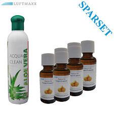 Substance Aromatique Aloe Vera + 6 x luftmaxx Huile parfumée Orange pour
