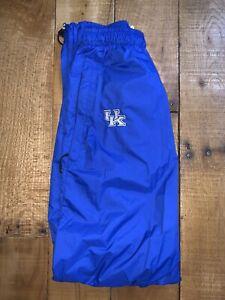 Women's Nike Kentucky Wildcats Blue Basketball/Track Windbreaker Pants XS