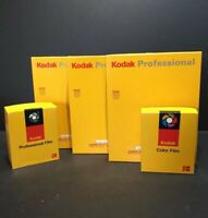 Vintage Kodak ***Empty*** Photo Paper Boxes - Lot of 5