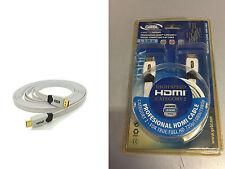 CAVO HDMI-HDMI 3 MT G&BL FLAT WHITE 1.3 G&BL HDFHDS03  / 6117