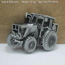 3D Belt Buckle Men Accessories Zinc Alloy Tractor Belt Buckles Car Series