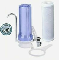 Single Stage Clear Drinking Water Filter - Chlorine,Taste & Odor Reduction CTCTO