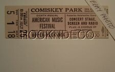 1947 African American Music Festival Concert Ticket Leontyne Price Comiskey Park