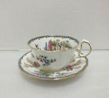 AYNSLEY GARDEN GATE CUP and SAUCER