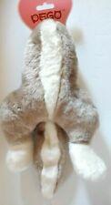 Rabbit Butt Bottom Half of Rabbit Large Stuffed Plush Dog Squeak Toy