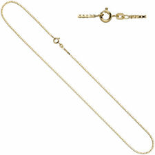 Venetian Chain 333 YELLOW GOLD 1,5 mm 40 cm Gold Necklace Gold Chain