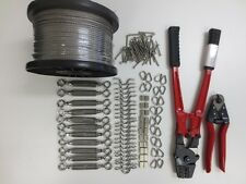 Balustrade Starter Fixing Kit - Cutters, Swager, Wire, Turnbuckle Kits complete