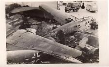 Lot (ZA) Luftwaffe Fassberg Military World War 2  RAF unused plain back pcs 1945