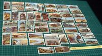 Engineering Wonders Wills Cigarette Card Set 50/50 from 1927 Steam & Steel