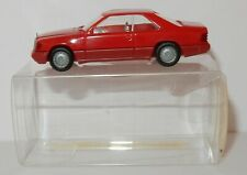 MICRO WIKING HO 1/87 MERCEDES BENZ 300 CE ROUGE COUPE #14313 IN BOX