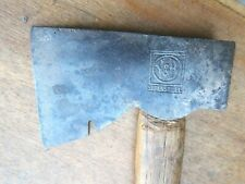 "EMBOSSED GENUINE ""V&B"" AXE , VINTAGE AMERICAN TOOLS"