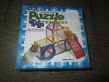 21 piece,No Slide CritterTrail Super pet PUZZLE playground - Hamsters / Gerbils