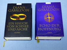 2 Bücher Diana Gabaldon Highland Saga Bände 6 + 7 Gebundene Ausgaben