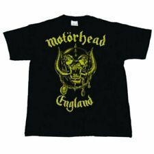 Motorhead - England Classic Gold T-Shirt Unisex Tg. XXL ROCK OFF