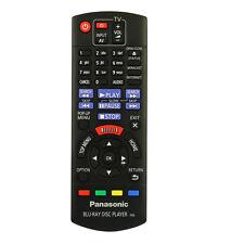 Genuine Panasonic Remote Control for DMP-BD81EB-K Smart Blu-ray & DVD Player