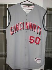 Cincinnati Reds Kent Mercker 2006 Game Used Road Baseball MLB Jersey - Team LOA
