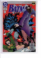 Batman #492 (May 1993, DC) PLATINUM EDITION Knightfall NM+ 9.4-9.8