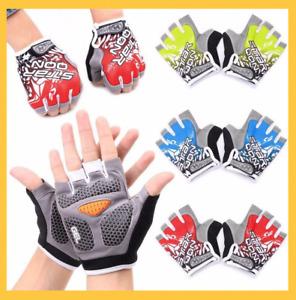 GEL Pads Mountain MTB Cycling Gloves Bike Sport Bicycle Half Finger Shockproof