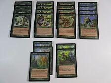 Lot of 21 Green Magic the Gathering Rares Nemesis 2000 WotC NM/SP