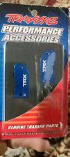 Traxxas TRA3632A Caster Blocks, Blue Aluminum 6061-T6 Rustler Slash Stampede OEM