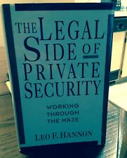 The Legal Side of Private Security: Working Through the Maze 1992