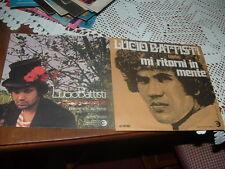 LUCIO BATTISTI  DUE COPERTINE  ONLY COVERS  NON CI SONO I VINILI ITALY'6?