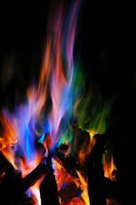 3pc 25g = 1hr Mystical Fire Colorful Flames- Rainbow Bonfire Camping Additive