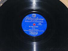"MORTON DOWNEY My Wild Irish Rose/ The Rose Of Tralee 10"" 78 Silvertone 559 Sears"
