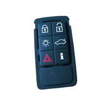 Replacement Remote 6 Buttons FOB Key Rubber Pad for Volvo S60 S60L XC60 S80L