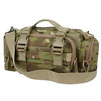 Condor 127 Multicam MOLLE Adjustable Hunting Camping Deployment Shoulder Bag