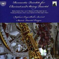 Stephan Siegenthaler - Romantic Quintets for Clarinet & String Quartet [New CD]