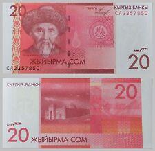 Kirgisistan / Kyrgyzstan 20 Som 2009 p24 unz.