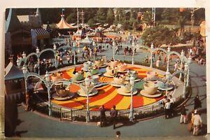 Disneyland Mad Hatter Tea Party Postcard Old Vintage Card View Standard Souvenir