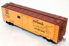 U S Hobbies Steel Side Reefer - Santa Fe - O Scale, 2-Rail  BRASS