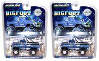 Set of 2 GREENLIGHT Bigfoot #1 The Original Monster Truck *1974 Ford F-250* 1:64