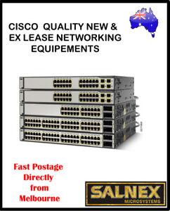 Cisco Catalyst 3750 PoE 24 Port Ethernet Switch Model:WS-C3750-24PS-S